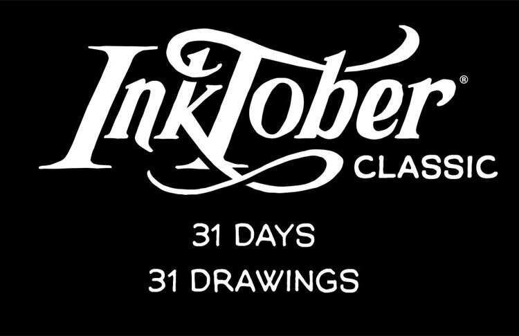 So Many Inktober Options – What to draw?